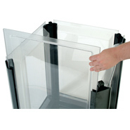 Rubbermaid 4006 Clear Replacement Panel